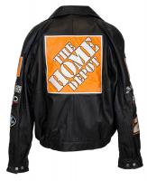 Tony Stewart Signed Leather Jacket (JSA COA) at PristineAuction.com