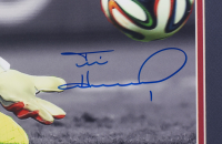 Tim Howard Signed Team USA 22x27 Custom Framed Photo Display (Beckett COA & Howard Hologram) at PristineAuction.com