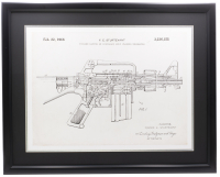 1966 AR-15 Patent 23x27 Custom Framed Photo at PristineAuction.com