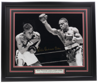 "Rubin ""Hurricane"" Carter Signed 22x27 Framed Photo Display (JSA COA) at PristineAuction.com"