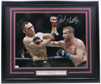 Justin Gaethje Signed UFC 22x27 Custom Framed Photo (JSA COA) at PristineAuction.com