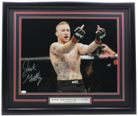 Justin Gaethje Signed UFC 22x27 Custom Framed Photo (JSA COA) at PristineAuction.com