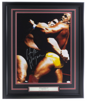 Hulk Hogan Signed WWE 22x26 Custom Framed Photo (JSA COA) at PristineAuction.com
