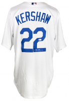 Clayton Kershaw Signed Dodgers Majestic Jersey (PSA COA) at PristineAuction.com