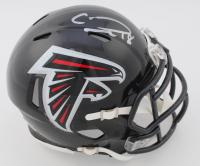 Calvin Ridley Signed Falcons Speed Mini Helmet (JSA COA) at PristineAuction.com