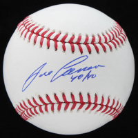"Jose Canseco Signed OML Baseball Inscribed ""40/40"" (Schwartz COA) at PristineAuction.com"
