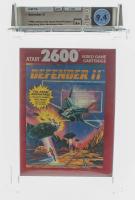 """1989 """"Defender II"""" Atari 2600 Video Game (WATA 9.4) at PristineAuction.com"""