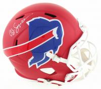 O. J. Simpson Signed Bills AMP Alternate Full-Size Speed Helmet (Schwartz Hologram) at PristineAuction.com