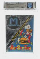 """1982 """"BurgerTime"""" Atari 2600 Video Game (WATA 7.0) at PristineAuction.com"""