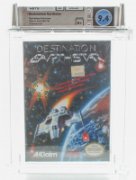 "1990 ""Destination Earthstar"" NES Video Game (WATA 9.4) at PristineAuction.com"