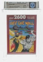 "1989 ""Off The Wall"" Atari 2600 Video Game (WATA 9.2) at PristineAuction.com"