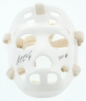 "Gerry Cheevers Signed Throwback Goalie Mask Inscribed ""HOF 85"" (Schwartz COA) at PristineAuction.com"
