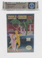 "1990 ""Castle of Dragon"" NES Video Game (WATA 9.2) at PristineAuction.com"