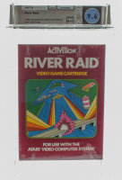 "1982 ""River Raid"" Atari 2600 Video Game (WATA 9.6) at PristineAuction.com"