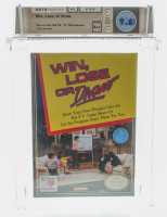 "1990 ""Win, Lose, or Draw"" NES Video Game (WATA 9.6) at PristineAuction.com"