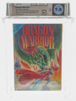"1989 ""Dragon Warrior"" NES Video Game (WATA 7.0 at PristineAuction.com"
