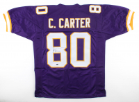 Cris Carter Signed Jersey (Schwartz COA) at PristineAuction.com