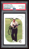 Jack Nicklaus Signed 2001 SP Authentic #41 (PSA Encapsulated) at PristineAuction.com