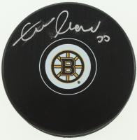Zdeno Chara Signed Bruins Logo Puck (Chara COA) at PristineAuction.com