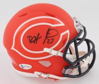 Devin Hester Signed Bears AMP Alternate Speed Mini Helmet (Beckett COA) at PristineAuction.com