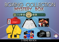 Boxing Collection Mystery Box - Series 6 (Limited to 75) (3 Boxing Autographs Per Box) (Pristine Exclusive Edition) *Floyd Mayweather Jr. Signed Championship Belt Redemption* at PristineAuction.com