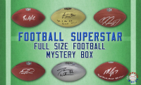 Schwartz Sports Football Superstar Signed Full-Size Football - Series 20 (Limited to 100) at PristineAuction.com