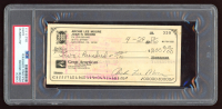 Archie Moore Signed 1969 Personal Bank Check (PSA Encapsulated) at PristineAuction.com