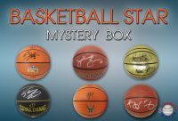 Schwartz Sports Basketball Superstar Signed Basketball Mystery Box - Series 18 (Limited to 75) (Pristine Exclusive Edition) at PristineAuction.com