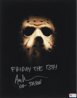 "Ari Lehman Signed ""Friday the 13th"" 11x14 Photo Inscribed ""Friday the 13th"" & ""OG Jason"" (PA COA) at PristineAuction.com"