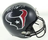 DeAndre Hopkins Signed Texans Full-Size Helmet (JSA COA) at PristineAuction.com