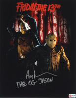 "Ari Lehman Signed ""Friday the 13th"" 11x14 Photo Inscribed ""The OG Jason"" (PA COA) at PristineAuction.com"