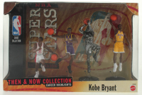 "Kobe Bryant Lakers ""Superstars"" Set of (4) Factory Sealed Figures at PristineAuction.com"