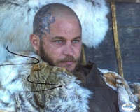 "Travis Fimmel Signed ""Vikings"" 8x10 Photo (AutographCOA Hologram) at PristineAuction.com"