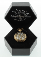 Disney World 25th Anniversary Pocket Watch with Original Packaging at PristineAuction.com