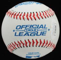 "Gail Kim Signed OL Baseball ""I Kissed Your Ball!"" (JSA COA) at PristineAuction.com"