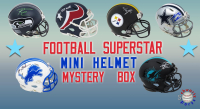 Schwartz Sports Football Superstar Signed Mini Helmet Mystery Box - Series 24 - (Limited to 100) at PristineAuction.com