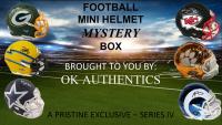 OKAUTHENTICS Football Mini Helmet Mystery Box Series IV at PristineAuction.com