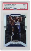 Zion Williamson 2019-20 Panini Prizm - Silver Prizm RC #248 (PSA 9) at PristineAuction.com
