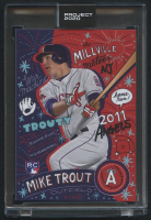 Mike Trout Topps Project 2020 #142 by Sophia Chang (Project 2020 Encapsulated) at PristineAuction.com