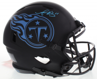 A. J. Brown Signed Titans Full-Size Authentic On-Field Eclipse Alternate Speed Helmet (JSA COA) at PristineAuction.com