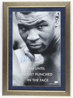 Mike Tyson Signed 17x25 Custom Framed Photo (PSA COA) at PristineAuction.com