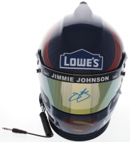 Jimmie Johnson Signed NASCAR Lowe's Full-Size Helmet (PSA COA) at PristineAuction.com