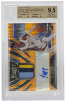 Ja Morant 2019-20 Select Rookie Jersey Autographs Prizms Neon Orange Pulsar #2 (BGS 9.5) at PristineAuction.com