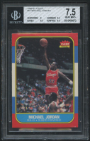 Michael Jordan 1986-87 Fleer #57 RC (BGS 7.5) at PristineAuction.com