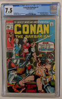 "1970 ""Conan the Barbarian"" Issue #2 Marvel Comic Book (CGC 7.5) at PristineAuction.com"
