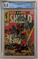 "1968 ""Nick Fury Agent of S.H.I.E.L.D."" Issue #2 Marvel Comic Book (CGC 5.5) at PristineAuction.com"