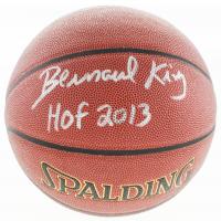 "Bernard King Signed NBA Basketball Inscribed ""HOF 2013"" (Schwartz Sports COA) at PristineAuction.com"