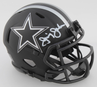 Jimmy Johnson Signed Cowboys Eclipse Alternate Speed Mini Helmet (Beckett COA) at PristineAuction.com