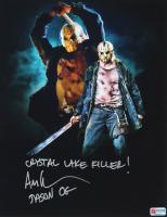 "Ari Lehman Signed ""Friday the 13th"" 11x14 Photo Inscribed ""Crystal Lake Killer!"" & ""Jason OG"" (PA COA) at PristineAuction.com"