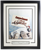 """Cheech Marin & Tommy Chong Signed """"Up in Smoke"""" 12x18 Custom Framed Poster Display (JSA COA) at PristineAuction.com"""